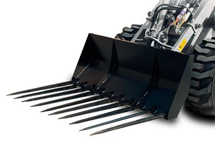 Dunggabel Anbauteil MultiOne Kompaktlader