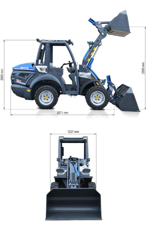 Baumaschine Serie 12 MultiOne