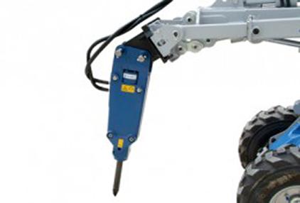 Hydraulikhammer Anbaugerät Knicklader MultiOne